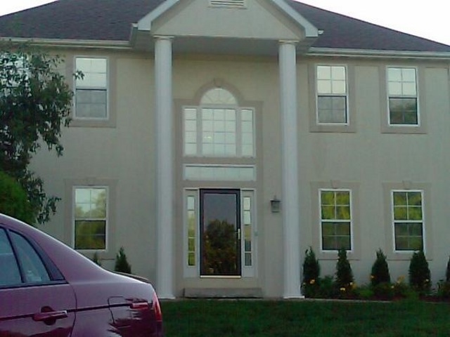 residential window tinting front